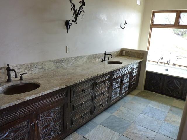 "Santa Fe, NM Master Bath Reface using the ""Santa Barbara"" panel ..."