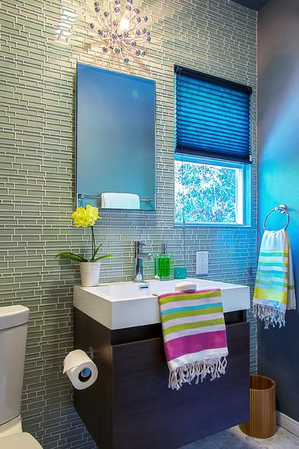 Santa Monica Residence contemporary-bathroom