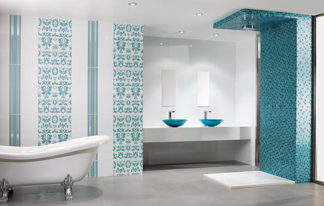 Santorini Bathroom Contemporary Bathroom