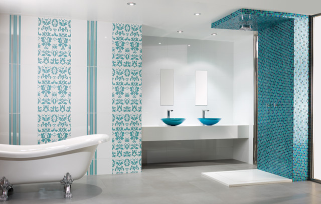 Santorini Bathroom Contemporary Bathroom Other