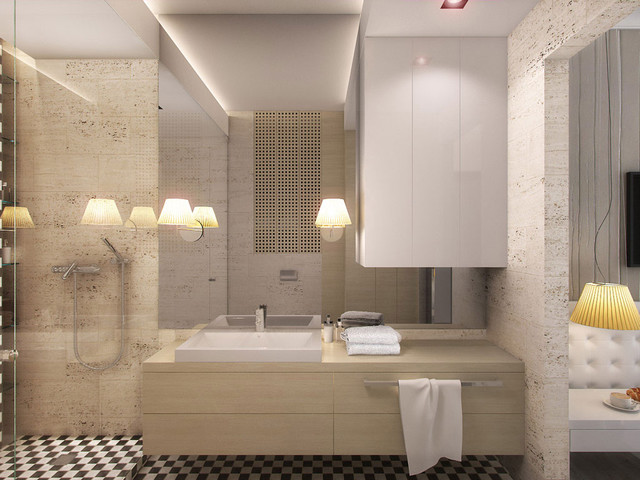 Sarmacka contemporary-bathroom