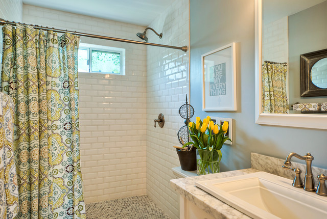 Sayre addition and remodel traditional-bathroom