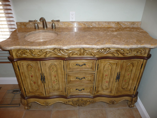 Scabos Travertine Countertop
