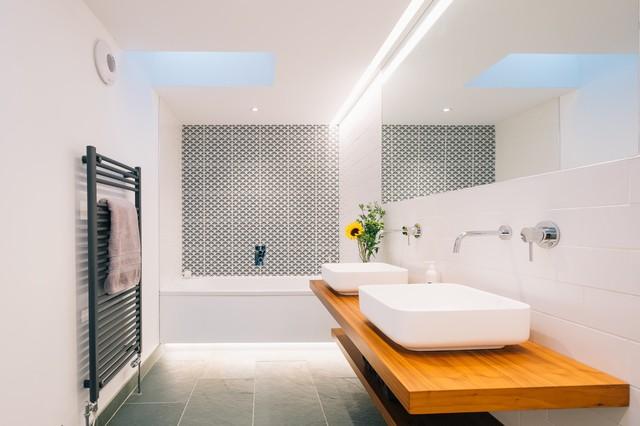 Maryville Porthcurno Scandinavian Bathroom Cornwall By The Beach House Company