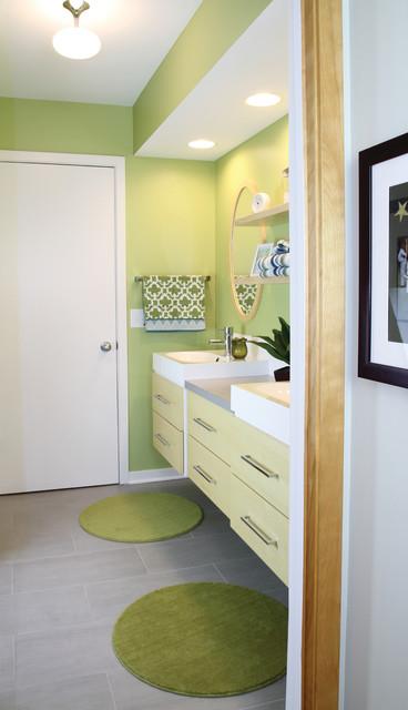 Scandinavian Modern Modern Bathroom Minneapolis By Anna Berglin Design