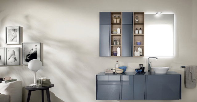 Scavolini Bathroom Lagu 2 Contemporary Bathroom
