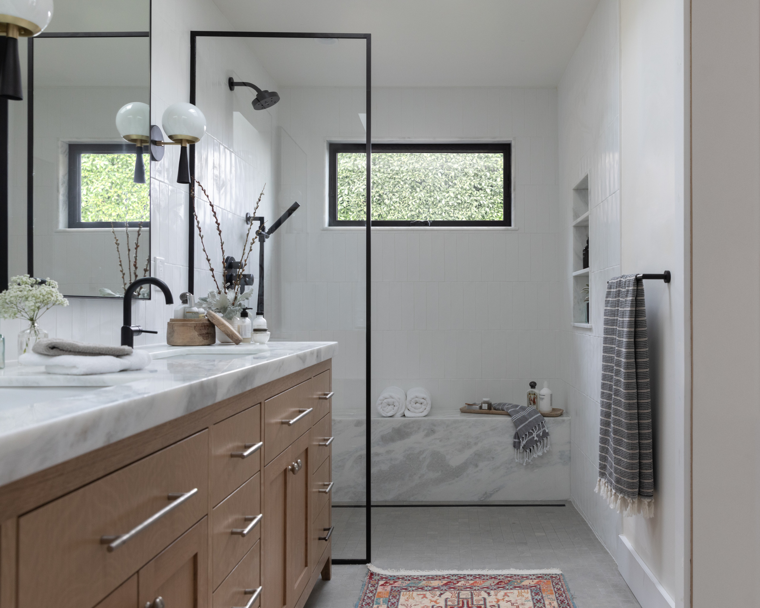 Tagliare Marmo Piano Cucina 75 beautiful walk-in shower with a bidet pictures & ideas