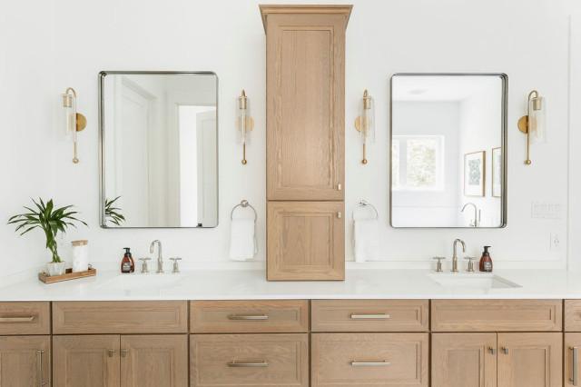 Wood Double Vanities, Double Vanities For Bathroom