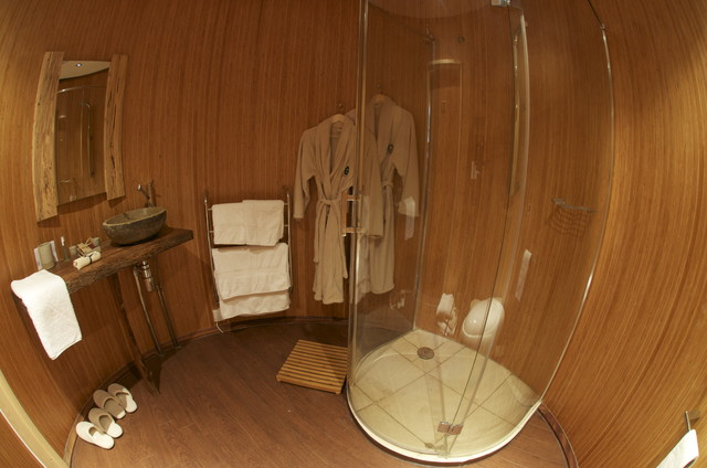 modern bathroom by Go Glamping