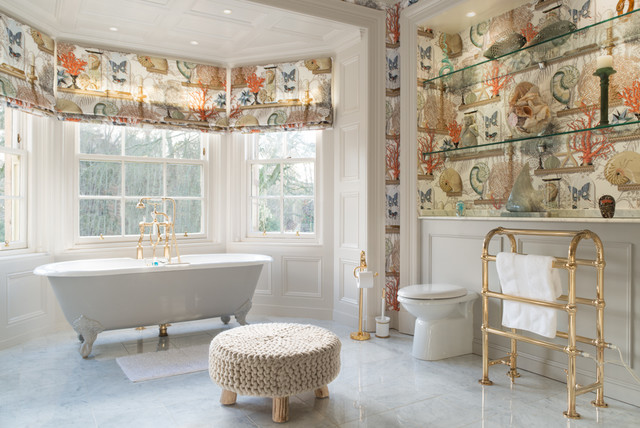Scottish Country House Traditional Bathroom Edinburgh By Zac And Zac Photography