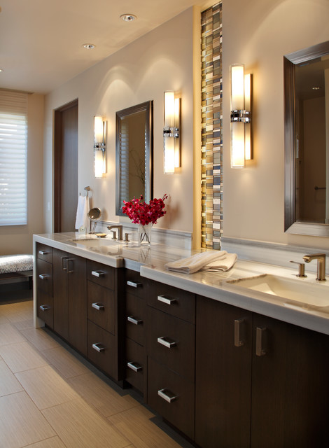 Scottsdale Modern Remodel Modern Bathroom Phoenix By Design Directives Llc