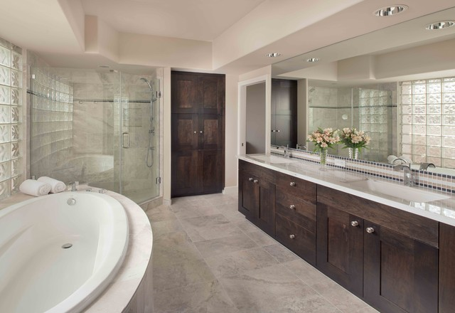 Scottsdale Mountain Master Bath Contemporary Bathroom Phoenix By Artful Design Interiors