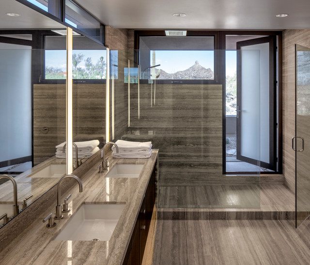 Scottsdale Residence 48 Degrees Contemporary Bathroom Phoenix By 180 Degrees