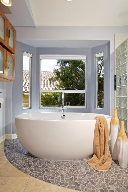 blue bath traditional bathroom san diego by marrokal design