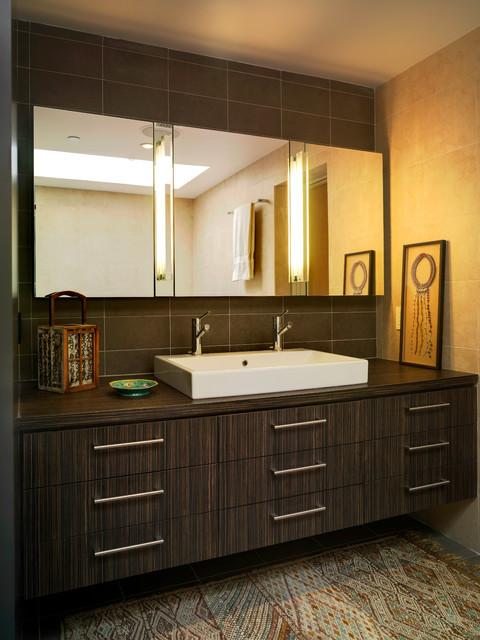 Sea Colony contemporary-bathroom