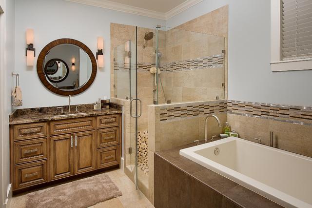Sea colony vacation home traditional bathroom for Bathroom design jacksonville fl