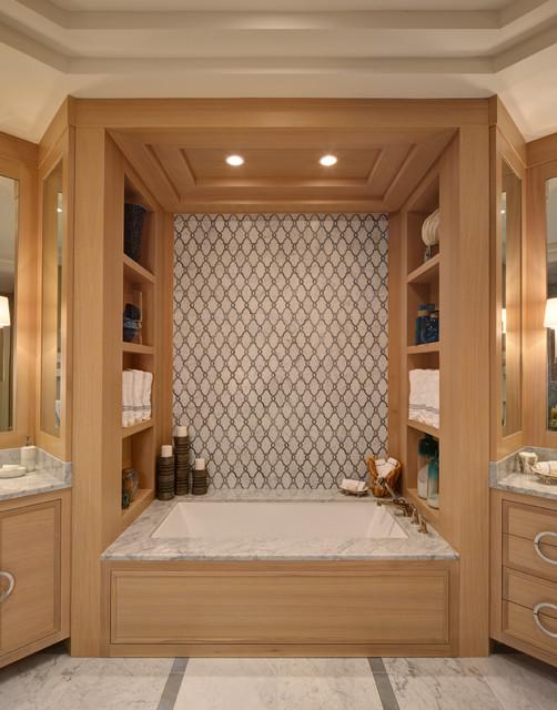 Seascape style for Seascape bathroom ideas