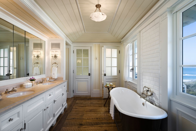Seaside Cottage Beach Style Bathroom Other By Gary Brewer