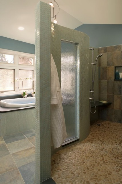 Seaside Retreat - Contemporary - Bathroom - Other - by Xstyles Bath ...