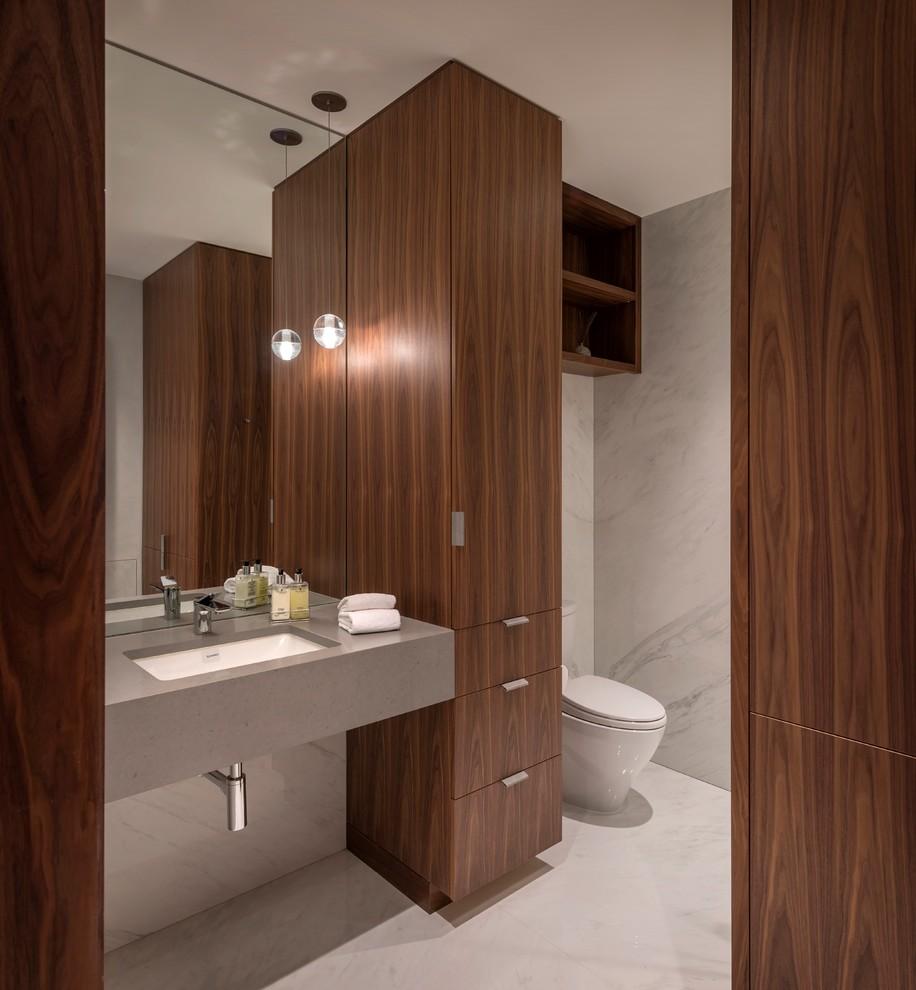 Seattle condominium renovation - Contemporary - Bathroom ...