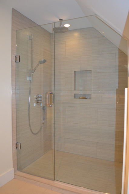 Luxury Seattle Tempered Glass Shelf  Bathroom