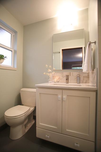 Seattle Master Bath Remodel Contemporary Bathroom