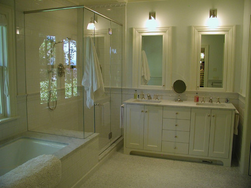 Seattle Waterfront Home traditional-bathroom
