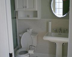 Secondary Baths traditional-bathroom