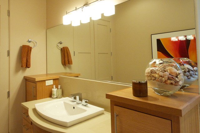 Sedona Northwest contemporary-bathroom