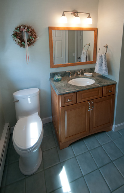 Seekonk ma half bath remodel traditional bathroom providence by nathan j reynolds Interior design half bathroom
