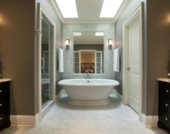 Seeley Master Bath A traditional-bathroom