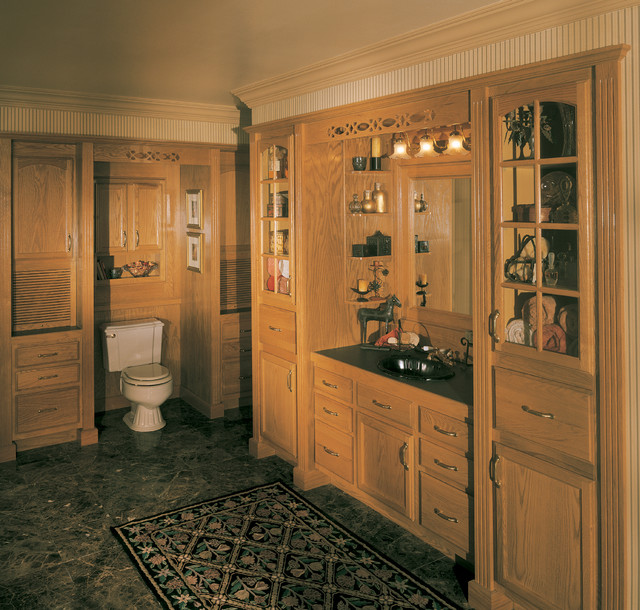 Seifer Bathroom Ideas Traditional Bathroom New York By Seifer Kitchen Design Center