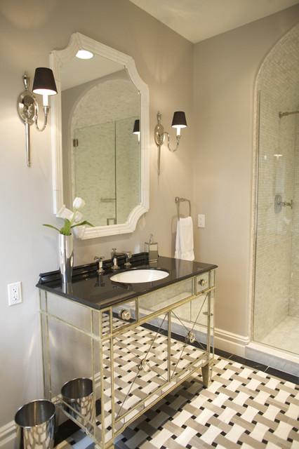 Semerjian Interiors contemporary-bathroom