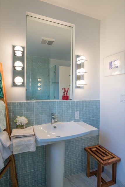 September Bathroom Remodel San Diego Transitional