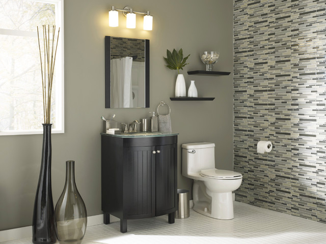 September contemporary bathroom