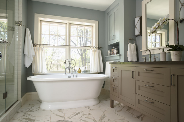 Serene escape master bath traditional bathroom for 100 floors valentines floor 9