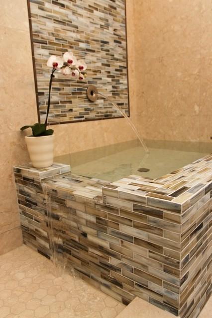 Serene Master Bath traditional-bathroom