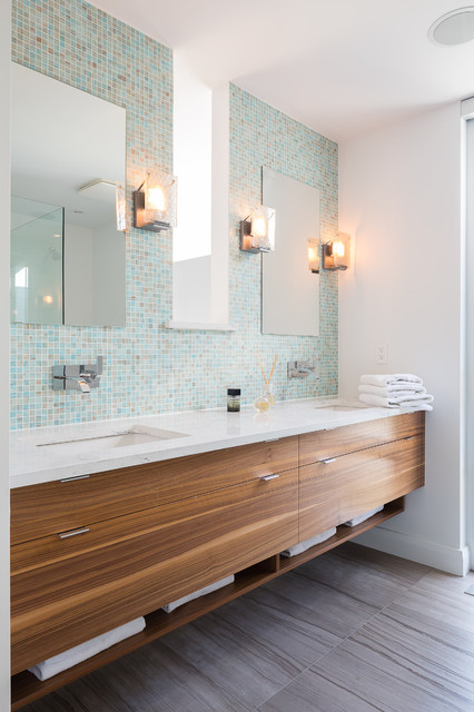 Serene Simplicity Contemporary Bathroom Toronto By
