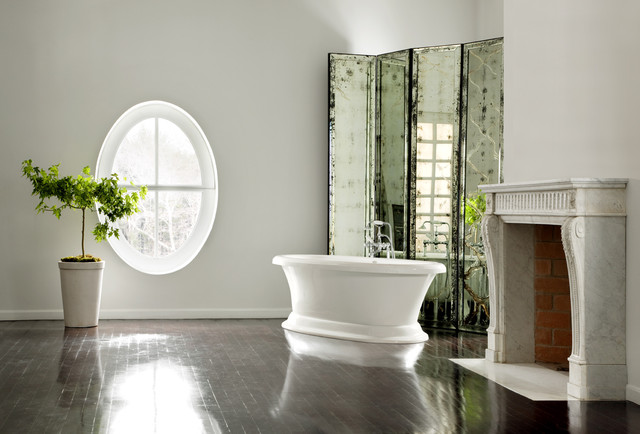 Serenity 11 traditional bathroom orange county by aquatic for Bathroom mirrors orange county