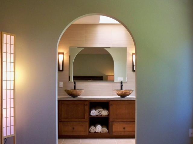 Serenity Bathroom asian-bathroom