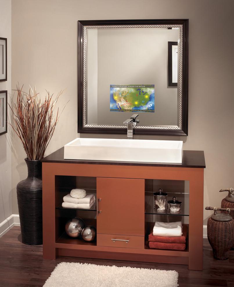 Séura Vanishing Vanity TV Mirror - Contemporary - Bathroom ...
