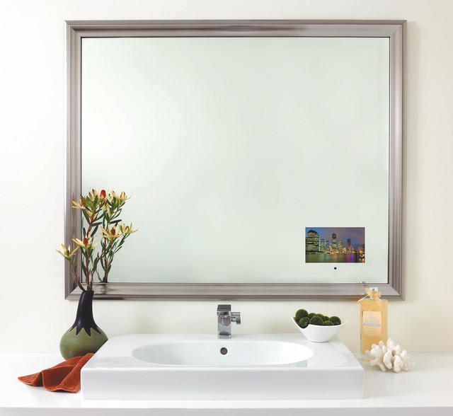 Seura studio deco television mirror for Tlvision miroir
