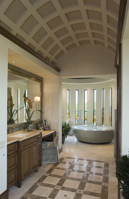 Seven Oaks Showcase mediterranean bathroom