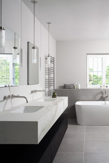 Sevenoaks Family Home Contemporary Bathroom Kent By Sgs Design Ltd