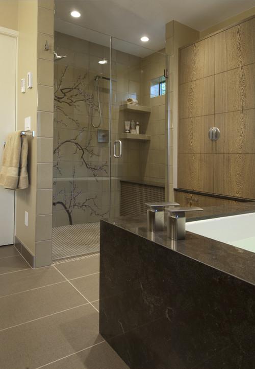 Asian Spa Bathroom Design Ideas ~ The bold and beautiful spa bathrooms