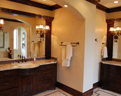 sexy style traditional-bathroom