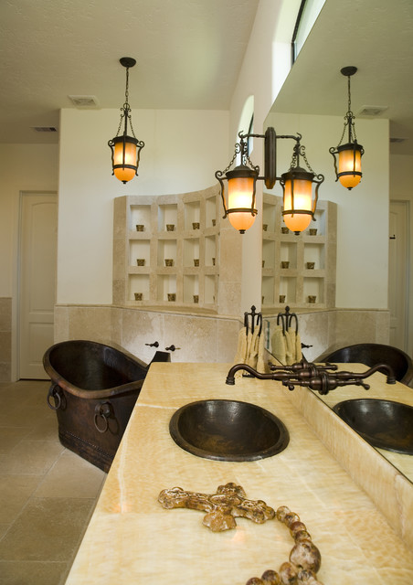 Sexy style for Mediterranean lighting fixtures