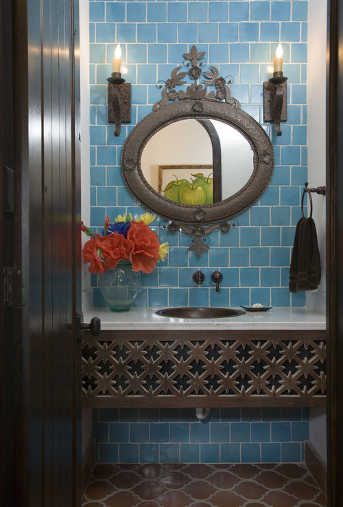 Must make an india inspired carved wood bathroom vanity for Indian bathroom decor