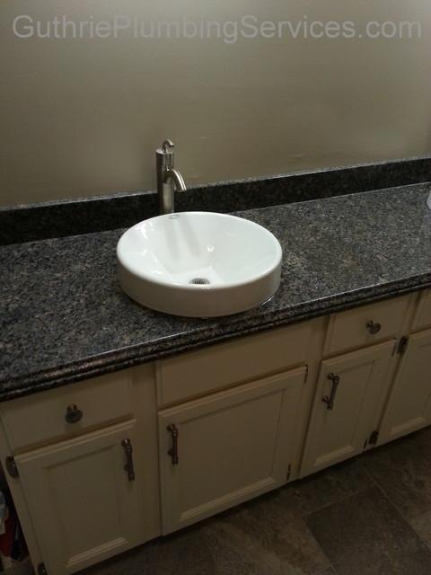 SG Master Bath traditional-bathroom