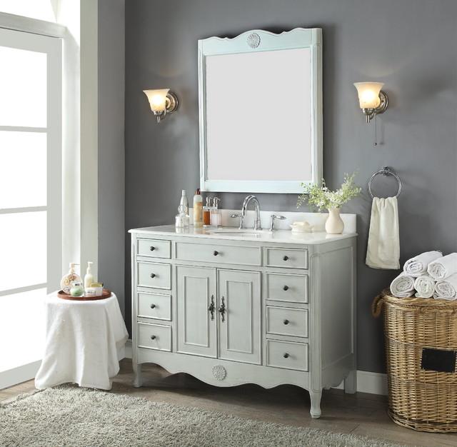 Shabby Chic Bathroom Vanities Shabby Chic Style Bathroom Miami By Chans Furniture Showroom